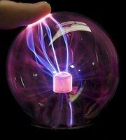 "1pcs/lot 3.5"" Plasma Ball USB Light Lights Sphere Party Balloons Holidays Balloons Decorations Wholesale"