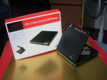 USB 2.0 External CD RW DVD ROM Drive PC Laptop Netbook/ Black & Free Shipping