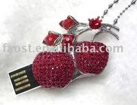 luxury jewelry usb flash disk