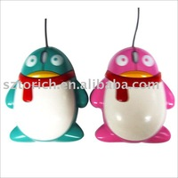 EMS Free Shipping Cute Cartoon Gift USB 3D Wired Gift Mouse