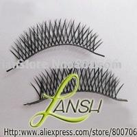 HOT! Fashion Natural Cross Long Fake False Eyelashes, 100 Pairs, Free Shipping!!