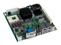 OO Ahome:Mini ITX BW2S2GA+CPU Socket 479 Intel 945GM with 24bit LVDS,17*17cm Motherboards,mainboard