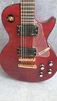 free freight New Guitars dark red custom Electric Guitar pickguard emg pickup