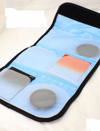 wholesale Filter Case Holder Pouch Wallet 6 Pockets Fits 25-82mm freeshipping high quality