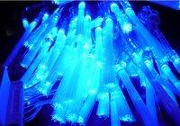10M 100LED Blue FIBER OPTIC LIGHT Christmas wedding Party 10pcs/lot
