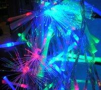 10M 100LED  FIBER OPTIC LIGHT Christmas wedding Party colour 50pcs/lot