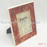 popular wooden photo frame/water transfer printing/free shipping