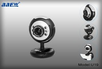 free shipping ,30.0 real Mega, 6 led lights pc camera,good for night vision