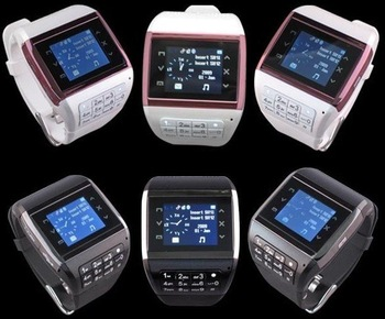 Hot! best price Dual sim card dual standby quad band watch mobile cell phone Q8