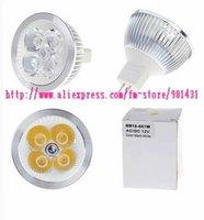 MR16 4-LED 360-Lumen 3500K Warm White Light Bulb (12V)