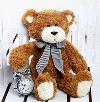 "17"" Stuffed Animal Teddy Bear Toys Light Brown 3pcs/lot +Gift&Free Shipping"