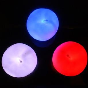 free shipment new latest arrival colorful candle lights patted Apple Motion LED christmas decoration toy gift