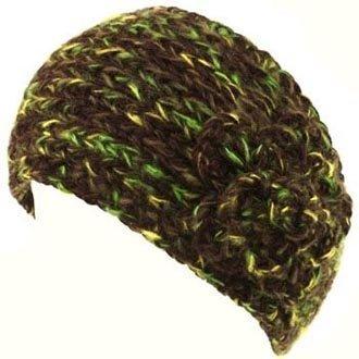 Handmade Knit Crochet Headwrap Headbands multi-color 2011 winter newest+Free shipping