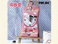 EMS free shipping 8pcs/lot Korea style cartoon wall clock/ time story wall clock/ HOT SELL in Korea&Japan
