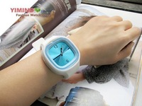 Free Shipping New 100% silicone jelly watch,gift watch,odm sweet watch Promotion