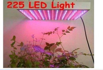 2 pcs/lot 225 LED 110-240V Full Spectrum Hydroponic Grow Light Plant Grow Light
