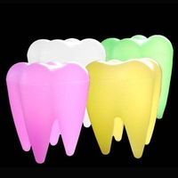 free shipping 1pcs/lot Mr P. tooth shape light,tooth shape lamp,Christmas Gift Mr.P Tooth Lamp Tooth Light