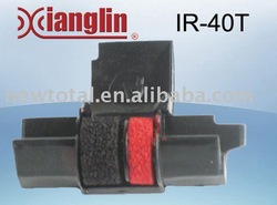 Printer ribbons Ink Roller IR40T Black&Red Guaranteed 100% wholesale and retail(China (Mainland))