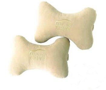 2pcs(1 pair) Hot Car Seat Neck Rest Cushion Bone Headrest Pillow
