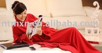 Free Shipping High Quality Blanket,Blanket,New Arrival Warmtime sleeve blanket multi-purpose blanket