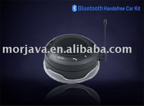 Paypal acceptable 2010 Best xmas Gift promotionBluetooth Stereo incoming No voice report dsp solar bluetooth handsfree(Hong Kong)