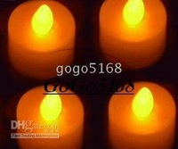 Flameless Flicker Tealight Light Party Led Candle, 240pcs/lot NEW High Quality