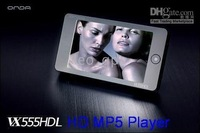 VX555HDL HD 4GB 3.0 inch Screen MP4 Player TFT High Definition Leo Newest 3.0 Onda