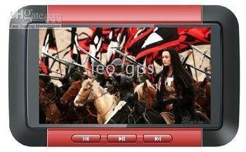 RM RMVB Format 8GB/4GB Brand New 3.0 inch WQVGA Screen MP4 / MP5 mp5 Player