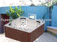 TV massage bathtub
