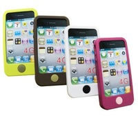 Cellular Phone Cover Silicone Case for iphone 4 hot sale!