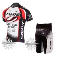 CYCLING JERSEY+SHORTS 2010 JAMIS  black&white pick: S M L XL XXL XXXL