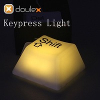 EMS Free shipping/ lovelty led night light/ 9pcslot led Keyboard light/ led keypress light