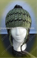 Hand crochet flower Adult cap - factory direct, free shipping