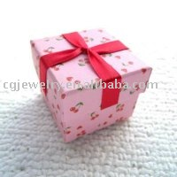 Free shipping!!! Pink cherry pendant gift box for lovers (wholsale and retail)(China (Mainland))
