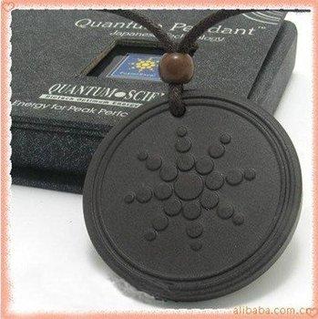 negative ion quantum scalar energy pendant with bio energy card 20pcs/lot