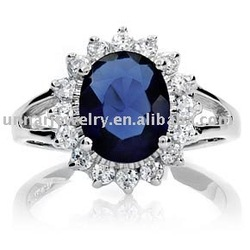 Free Shipping, Prince William & Kate Middleton Stars' blingy engagement rings wholesale(China (Mainland))