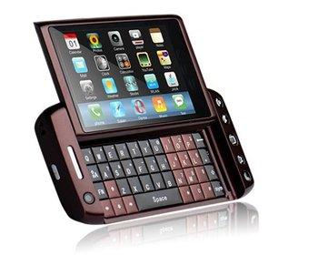 T5000 Dual SIM, 3.6 touch screen, qwerty keyboard  WIFI Analog TV  Unlocked Slider Mobile Phones