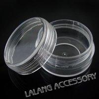 70x New Boxes Plastic Round Jewelry Beads Storage 40*40*22mm 120310