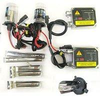 CAR 35W 12V HID XENON CONVERSION KIT 2 Ballasts + 2 Bulbs Lamp H4 H4-1 4300K Wholesale [C53]