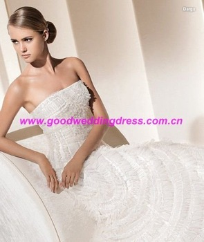China professional Wedding dress supplier(CEW1063) ,guaranteed 100%,wholesale retail+free shipping+free custom logo