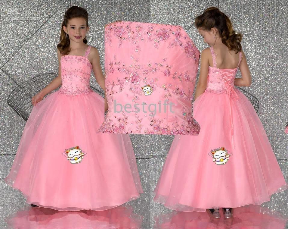 Wedding dresses: flower girl wedding dress