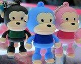2010 New super personality Cartoon Creative flash disk Cute idea Monkey mouth 2GB USB Flash Drive