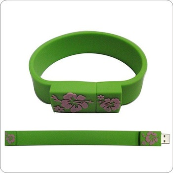 Creative USB bracelet cartoon, cute creative flash disk, flash disk personality Special stable 2GB