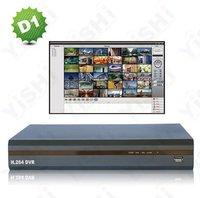 8CH High-End D1 CCTV DVR, CIF 480/400fps DVR-8CH