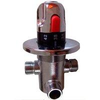 DN15 (G1/2) Brass thermostatic valve , thermostatic valve, solar heater valve,  thermostatic mixer
