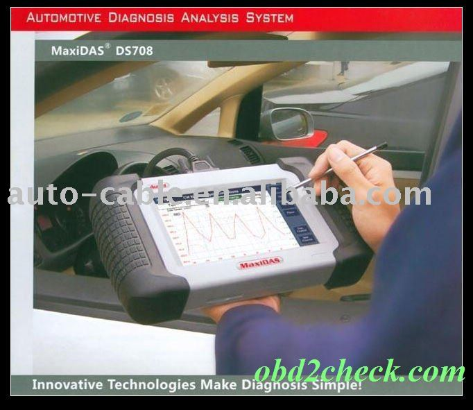 Autel MaxiDAS DS708 Automotive Diagnostic System Scanner(China (Mainland))