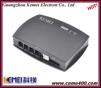 2 ch online voice recorder from KEMEI can remote control by internet
