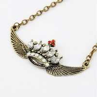 Angel Wings Necklace 3Pcs/lot+(Support Drop Shipping) & Free Shipping