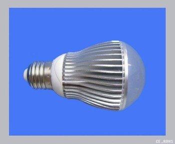Promotion!! TW led chip, 5*1W led bulb  300lm