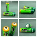 Free Shipping Pisen AA Ni-MH Rechargeable Battery 1300mAh Genuine Brand New 10pcs/lot